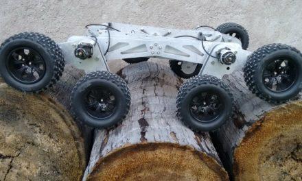 Crea estudiante de la BUAP robot inspirado en el Curiosity