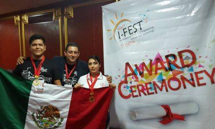 Alumnos veracruzanos logran primer lugar en festival internacional de ingeniería