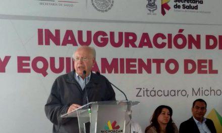 Para avanzar en salud, necesaria participación de la sociedad: Narro Robles