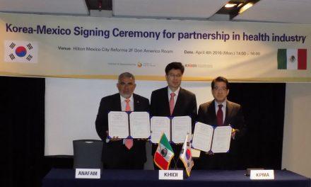 Firma convenio ANAFAM con su similar de Corea para promover inversiones