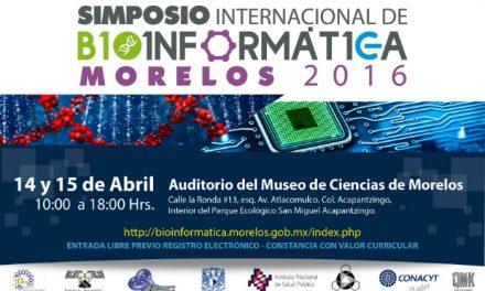 Inicia en Morelos el Simposio Internacional de Bioinformática
