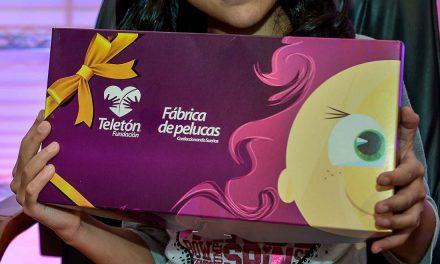 En seis años Fundación Teletón ha donado ocho mil pelucas a niñas con cáncer