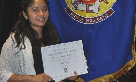 Obtiene estudiante del IPN el 'Yale Book Award' por desempeño académico