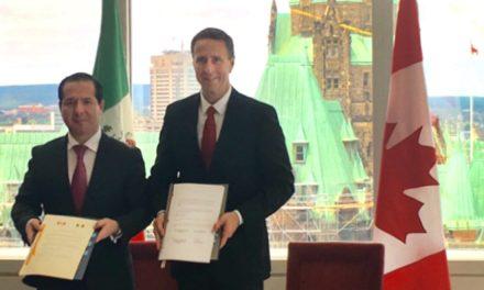 México y Canadá firman acuerdo de regulación de productos médicos y farmacéuticos