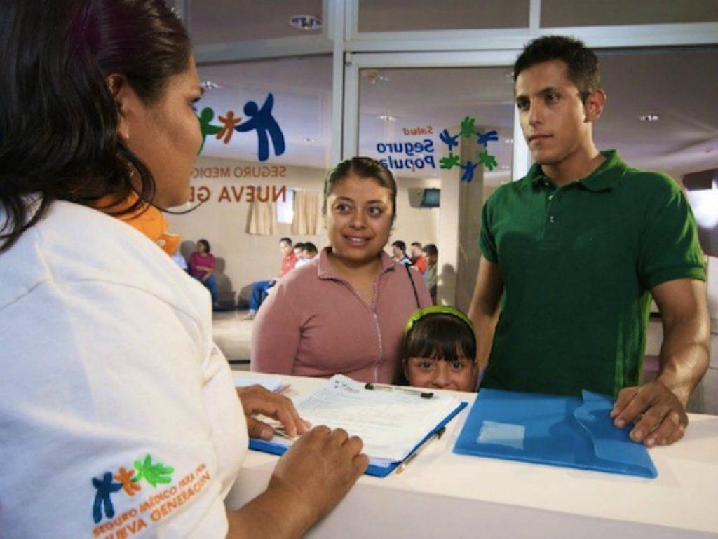 Afiliados Seguro Popular México