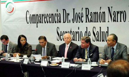 Comparece ante la Comisión de Salud del Senado de la República el Dr. José Narro Robles, Secretario de Salud