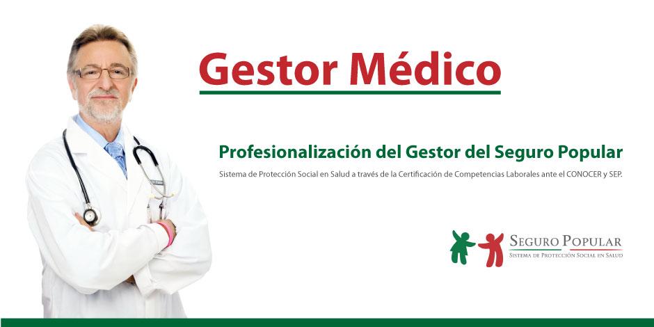 Profesionalización de Gestores del Seguro Popular.