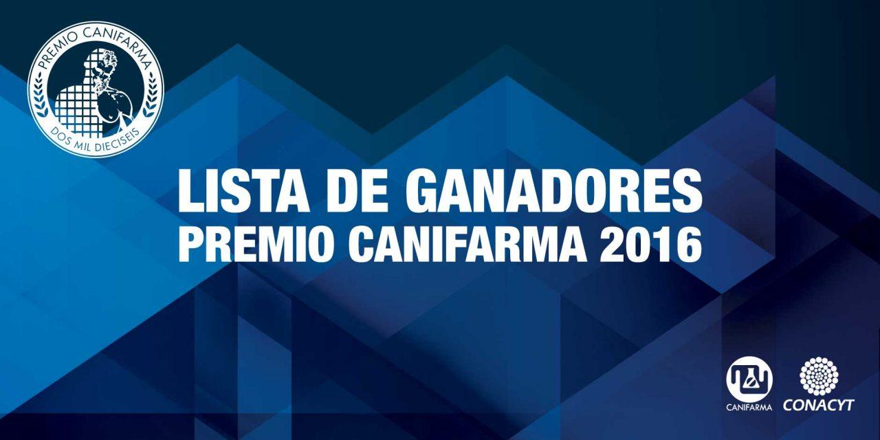Premio CANIFARMA 2016