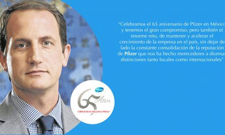 Pfizer celebra 65 años de innovación en México