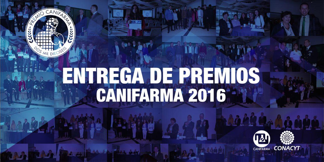 En la entrega número 42 del Premio CANIFARMA.
