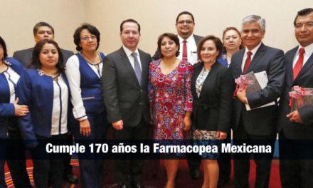Cumple 170 años la Farmacopea Mexicana