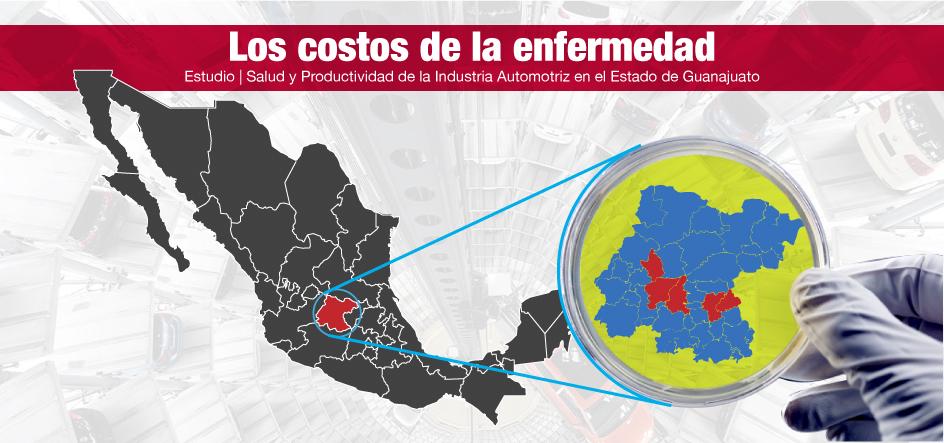 Los costos de la enfermedad | Estudio: Salud y Productividad de la Industria Automotriz en el Estado de Guanajuato