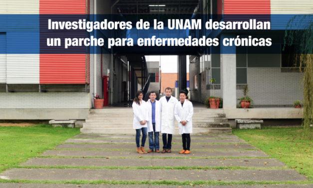Investigadores de la UNAM desarrollan un parche para enfermedades crónicas