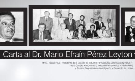 Carta alDr. Mario Efraín Pérez Leyton