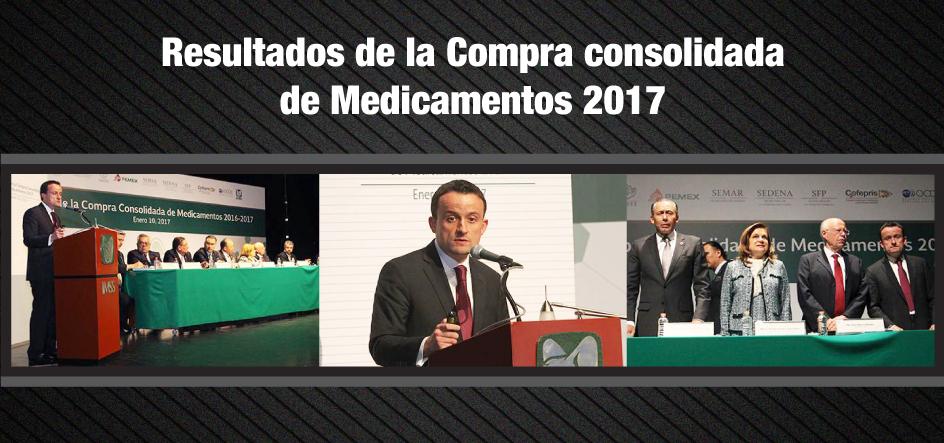 Resultados de la Compra consolidada de Medicamentos 2017