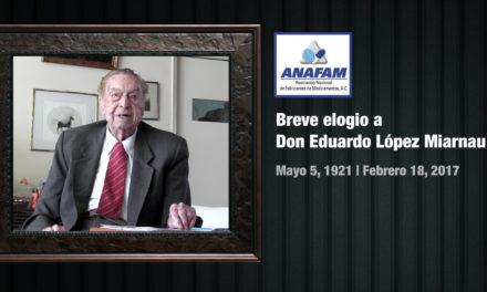 Breve elogio a Don Eduardo López Miarnau