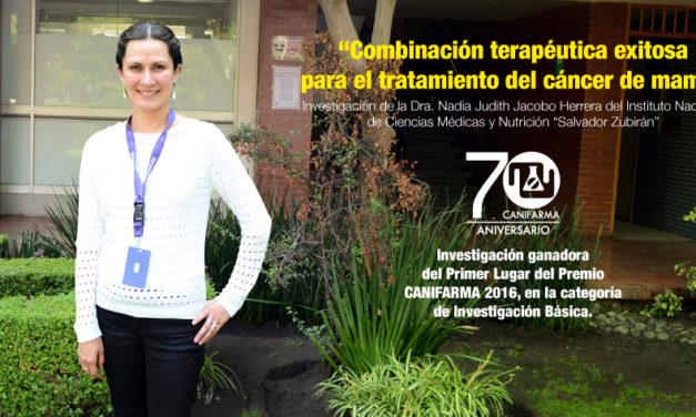 """""""Combinación terapéutica exitosa para el tratamiento del cáncer de mama"""""""