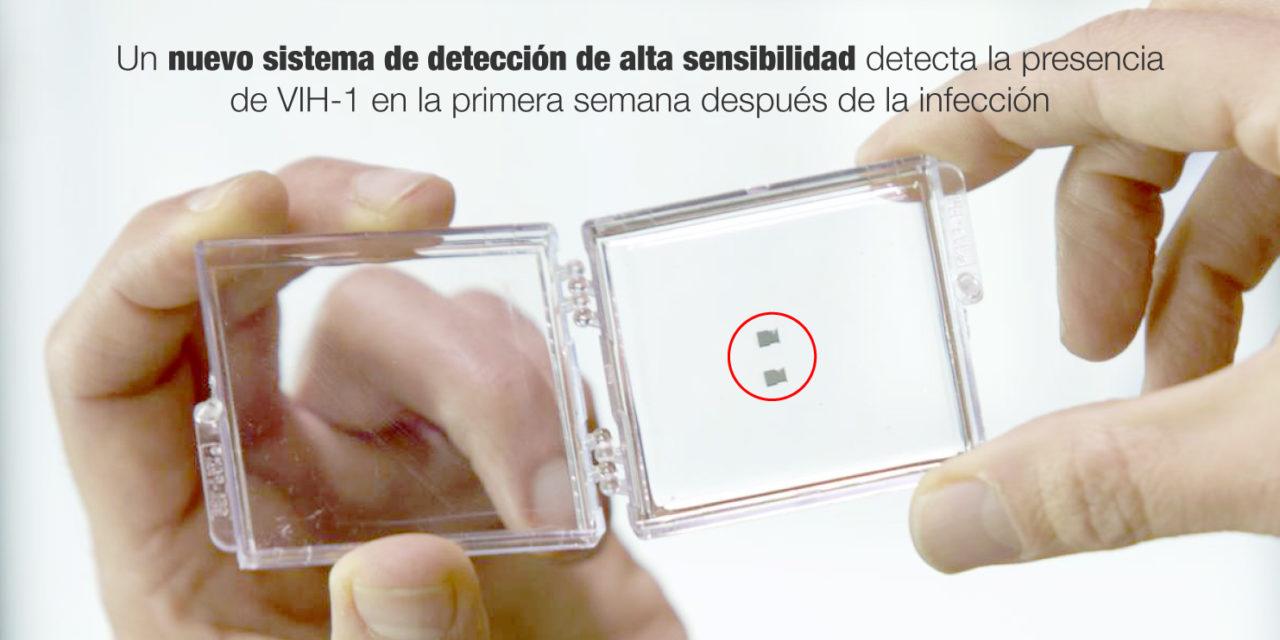 Un nuevo sistema de detección de alta sensibilidad detecta la presencia de VIH-1 en la primera semana después de la infección