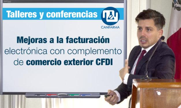 Mejoras a la facturación electrónica con complemento de comercio exterior CFDI