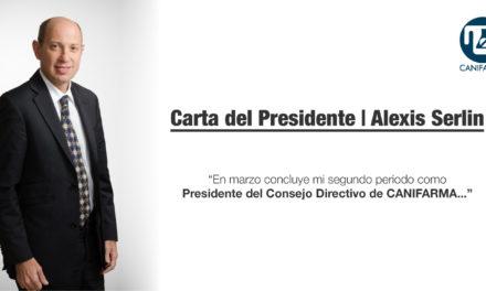 Carta del Presidente | Alexis Serlin