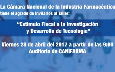 """Plática """"Estímulo Fiscal a la Investigación y Desarrollo de Tecnología"""""""