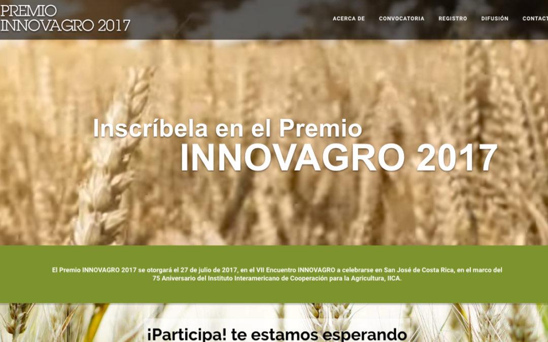 Está abierta la convocatoria a participar en el IV Premio Innovagro edición 2017
