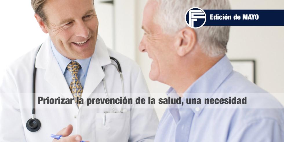 Priorizar la prevención de la salud, una necesidad