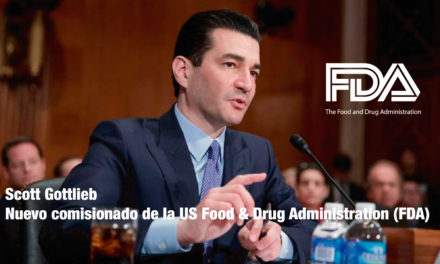 "<p class=""p1""><strong>Scott Gottlieb,</strong> nuevo comisionado de la US Food & Drug Administration (FDA)</p><p class=""p2""></p>"