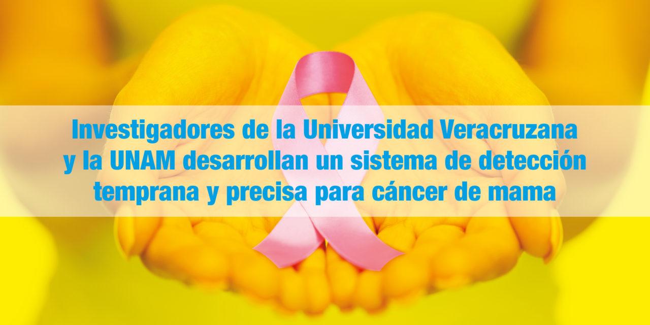 Investigadores de la <strong>Universidad Veracruzana y la UNAM</strong> desarrollan un sistema de detección temprana y precisa para cáncer de mama