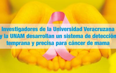 Investigadores de la Universidad Veracruzana y la UNAM desarrollan un sistema de detección temprana y precisa para cáncer de mama