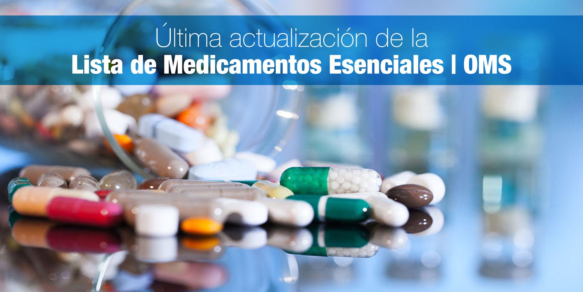 Última actualización de la Lista de Medicamentos