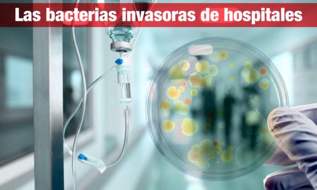 Las bacterias invasoras de hospitales