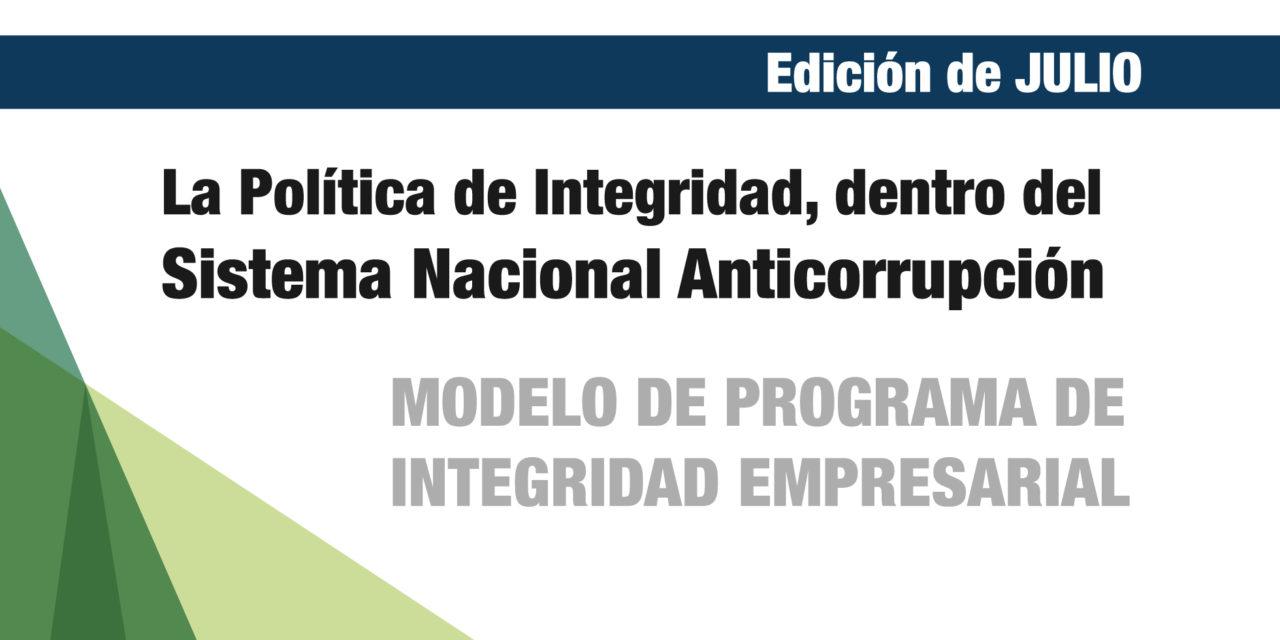 La Política de Integridad, dentro del Sistema Nacional Anticorrupción