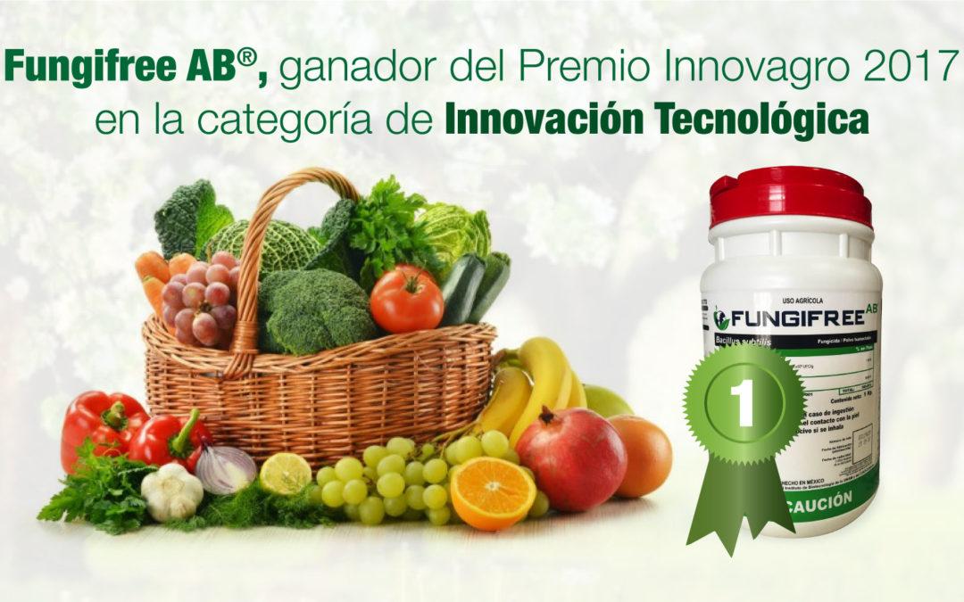 Fungifree AB®, ganador del Premio Innovagro 2017 en la categoría de innovación tecnológica