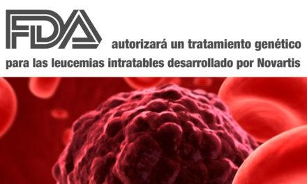 La FDA autorizará un tratamiento genético para las leucemias intratables, desarrollado por Novartis