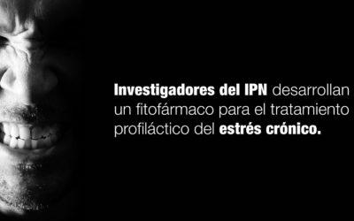Investigadores del IPN desarrollan un fitofármaco para el tratamiento profiláctico del estrés crónico