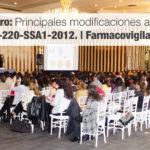 Foro: Principales modificaciones a la NOM-220-SSA1-2012. | Farmacovigilancia.