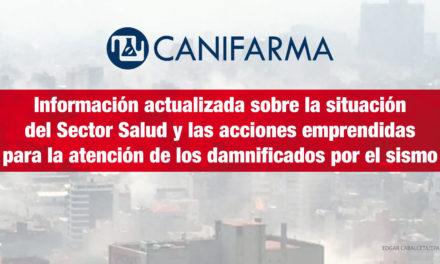 Información actualizada sobre la situación del Sector Salud y las acciones emprendidas para la atención de los damnificados por el sismo
