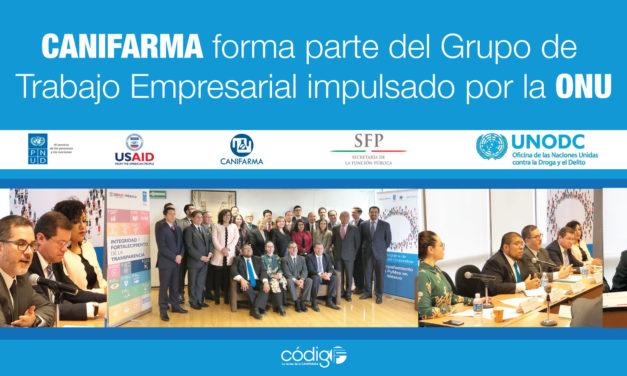 CANIFARMA forma parte del Grupo de Trabajo Empresarial impulsado por la ONU
