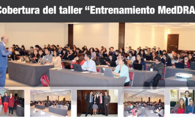"Cobertura del taller ""Entrenamiento MedDRA"""