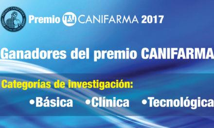 Ganadores del premio CANIFARMA 2017
