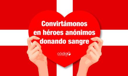 Convirtámonos en héroes anónimos donando sangre