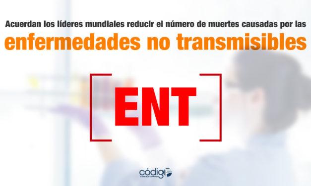 Acuerdan los líderes mundiales reducir el número de muertes causadas por las enfermedades no transmisibles.
