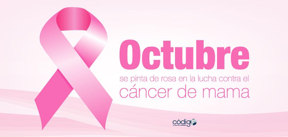 Octubre se pinta de rosa en la lucha contra el cáncer de mama