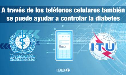 A través de los teléfonos celulares también se puede ayudar a controlar la diabetes