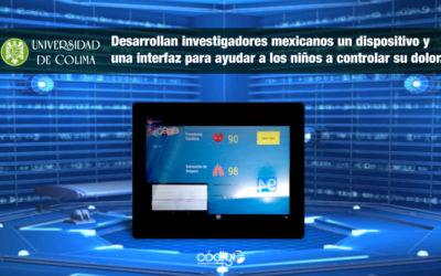 Desarrollan investigadores mexicanos un dispositivo y una interfaz para ayudar a los niños a controlar su dolor.