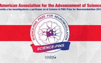 American Association for the Advancement of Science invita a los investigadores a participar en el Science& PINS Prize for Neuromodulation 2018