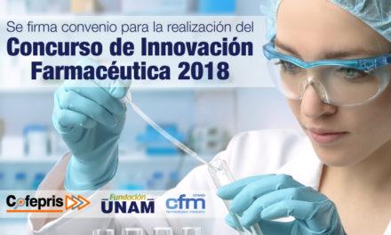 Se firma convenio para la realización del Concurso de Innovación Farmacéutica 2018