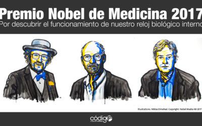Premio Nobel de Medicina 2017 por el funcionamiento de nuestro reloj biológico.