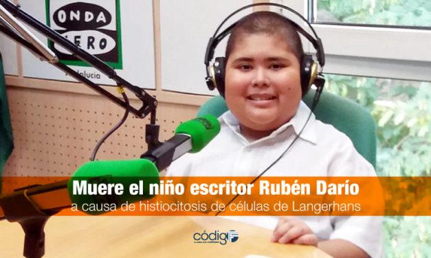 Muere el niño escritor Rubén Daríoa causa de histiocitosis de células de Langerhans.